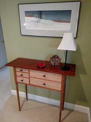 Leopard Wood Sideboard